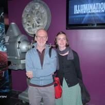 Le réalisateur Dominique Choisy et l'actrice Juliette Damiens